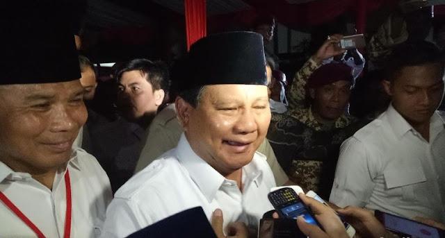 Anies-Sandi Menang, Prabowo Ucapkan Amien Rais Sebagai 'Ayatullahnya' Indonesia