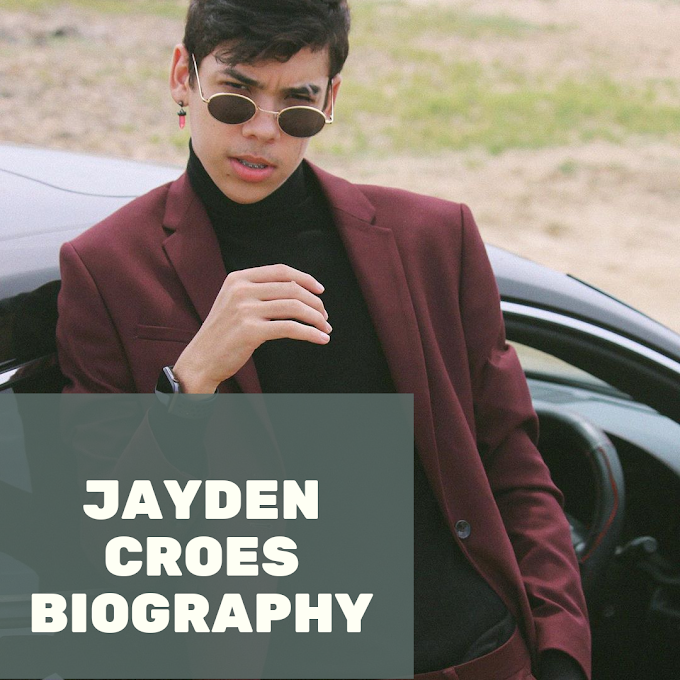 Jayden croes, biography, lifestyle, Age, height-weight everything...