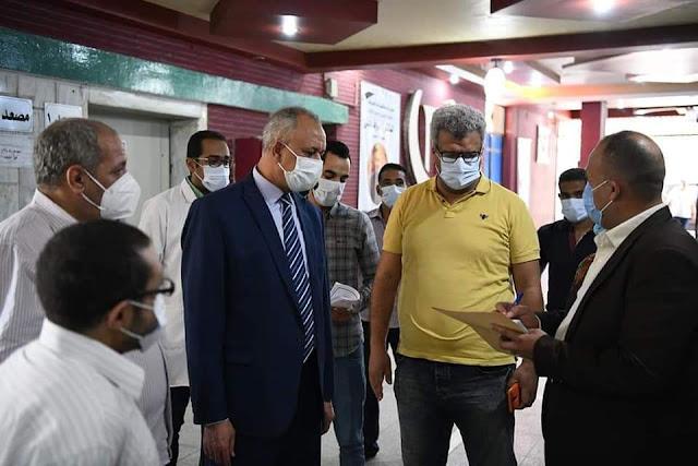 تعافى وخروج 358 حالة من مصابي فيروس كورونا المستجد من مستشفى قنا العام
