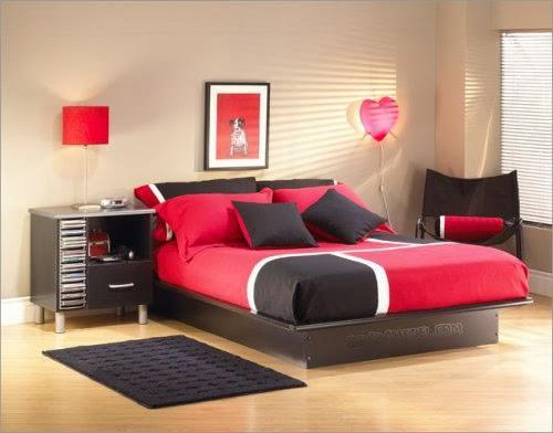 Desain Rumah Minimalis Terbaik Foto Desain Kamar Tidur Romantis
