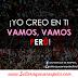 Yo creo en ti, Vamos, amos Perú - Frases para alentar al equipo peruano