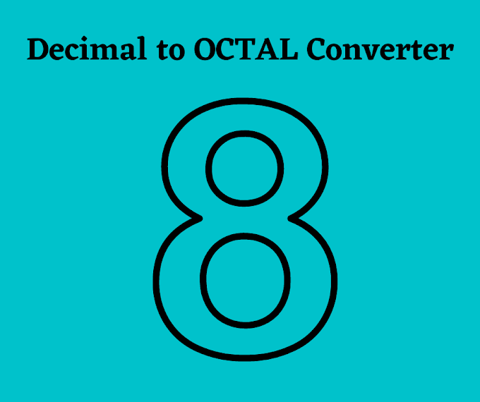 Decimal to Octal Converter