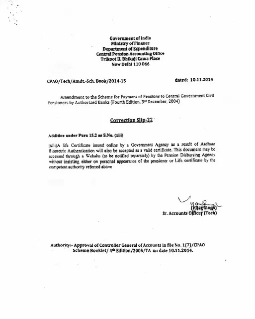 life-certificate-correction-slip-22