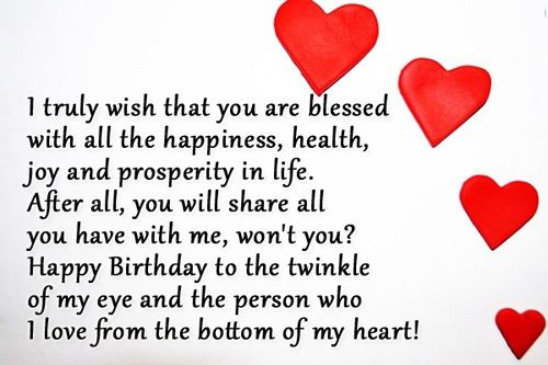 Best bday wishes for a partner