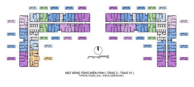 Bảng giá chung cư Mipec Rubik 360 122-124 Xuân Thủy Cầu Giấy Hà Nội - CĐT Mipec