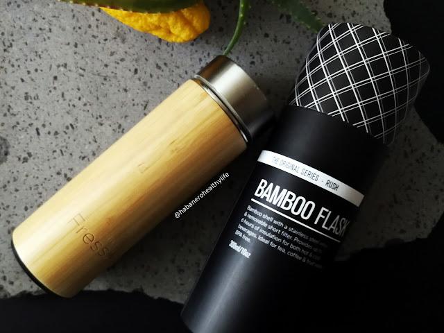 Dlacone in bamboo per tisane