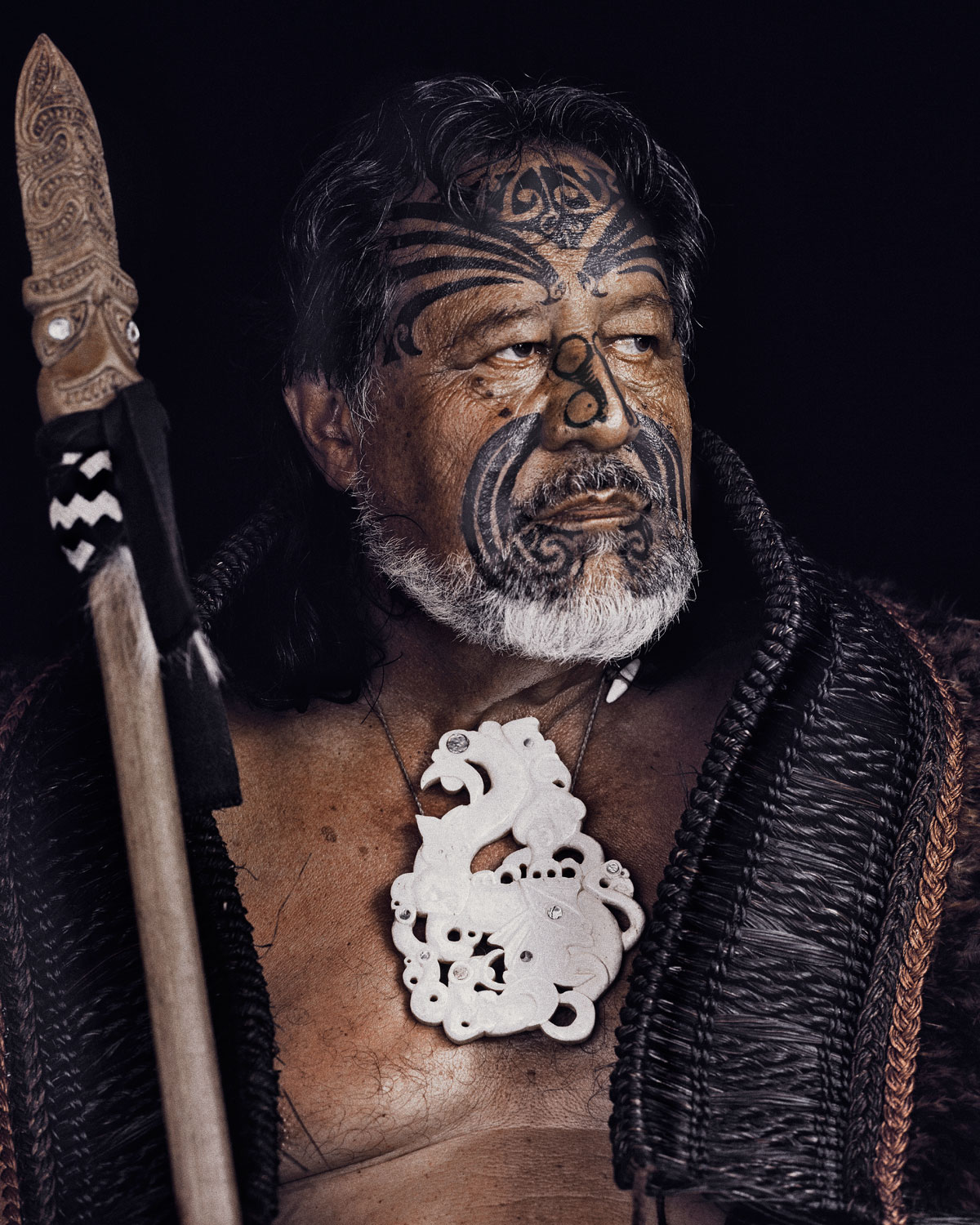 Maori Rituals: White Wolf : Stunning Portraits Of The Maori People By