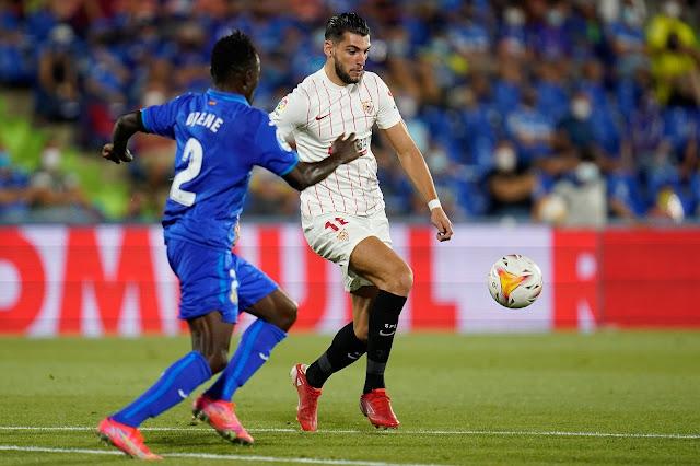 ملخص وهدف فوز إشبيلية علي خيتافي (1-0) الدوري الإسباني