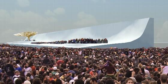 Un altar de 4.000 metros Cuatro Vientos para recibir al Papa