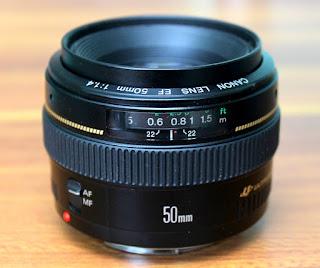 Canon 50mm f1.4 USM kurang tajam / Blur ??