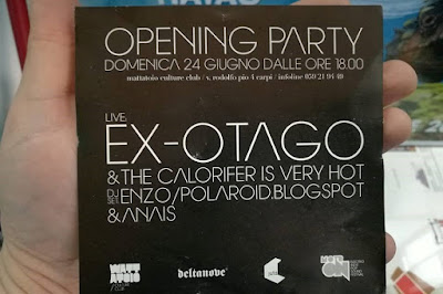 Mattatio Club - Carpi (MO) - opening party flyer