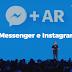 La realtà aumentata approda su Messenger e Instagram