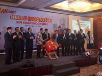 Indonesia Hebat! Pembukaan Maskapai Pramugari Berbikini Dihadiri Menhub & Partai Komunis Vietnam
