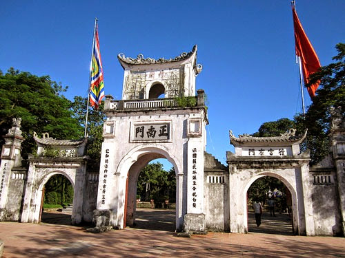 lễ hội đền Trần-MAC travel