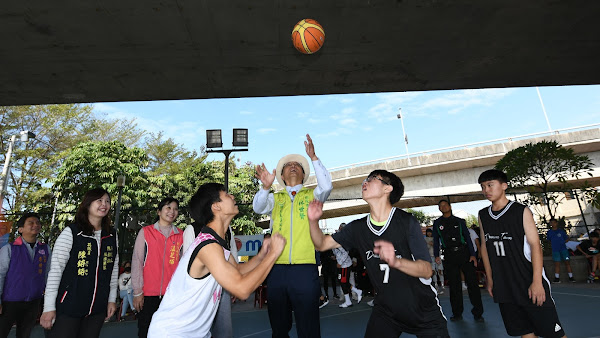 推廣全民運動 彰化市長盃籃球賽點燃戰火