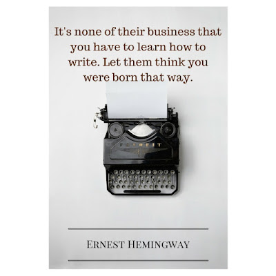 Ernest Hemingway on Learning to #Write #Inspiration