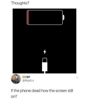 Battery Dead Meme