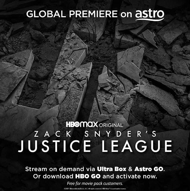 Zack Snyder's Justice League Boleh Ditonton Di HBO Go Dan Astro