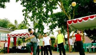 Lis Buka Turnamen Sepak Takraw LPM CUP