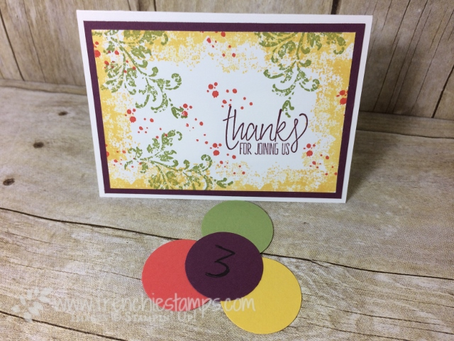 Stampin'Up! In Color 2017-19 color combination, Timeless Texture,