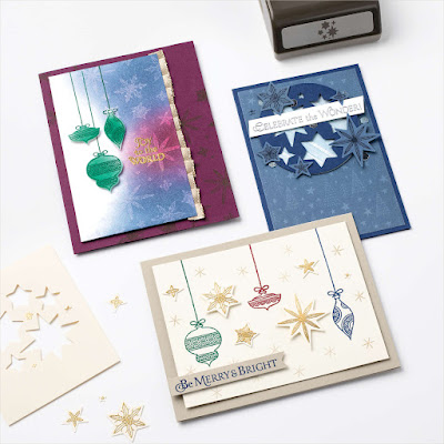 Stampin' Up! Stars Are Shining Cards ~ July-December 2021 Mini Catalog #stampinup