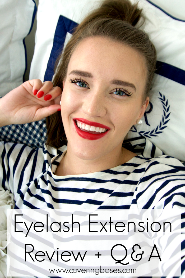Video Eyelash Extensions Review New York City Fashion And