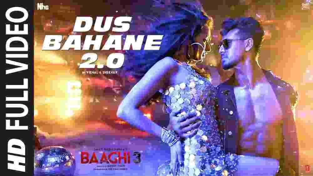 Dus Bahane 2.0 Lyrics - Baaghi 3