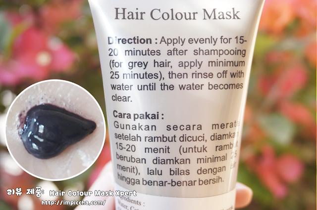 masker rambut dan cat rambut