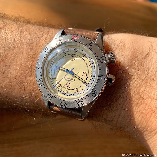 Undone Aero Scientific wrist shot
