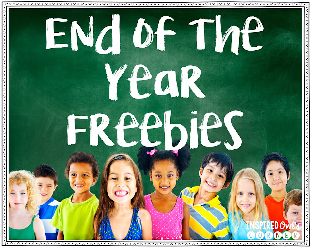 End of the Year Freebies