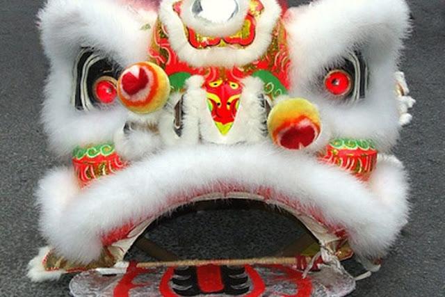 Hacer máscara de león chino