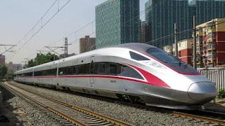 Fuxing Hao train top speed