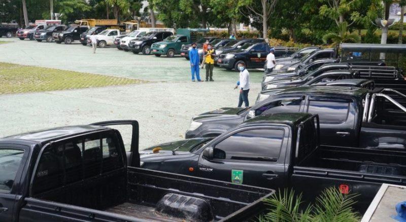 Distribusikan Sembako, Pemko Batam Kerahkan 173 Mobil Pick Up