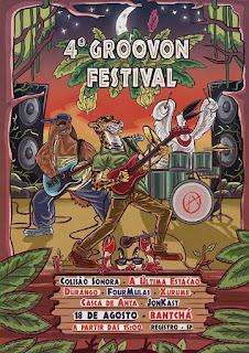 Groovon Festival reúne 7 bandas de rock em Registro-SP neste domingo