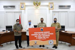 Pemprov DKI Salurkan Bansos Bagi Umat Katolik Keuskupan Agung Jakarta