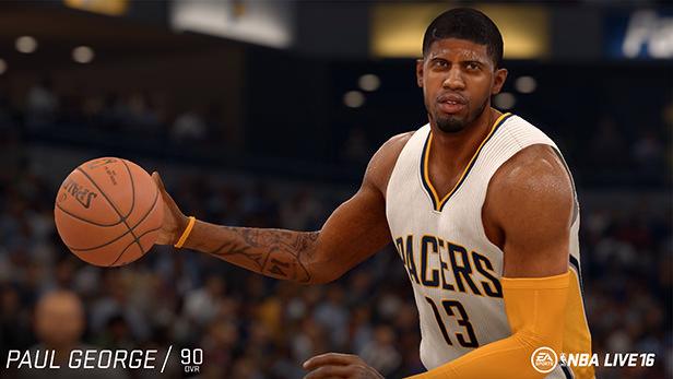 NBA Live 16 Paul George
