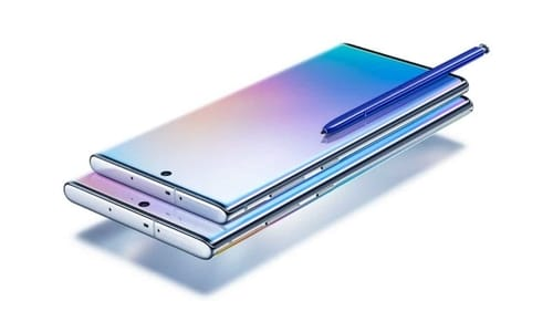 Leaking live photos of the upcoming Galaxy Note20 + cover confirms its design