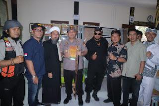 Kapolres Sukabumi Berkunjung ke Ponpes Dzikir Al Fath Kota Sukabumi
