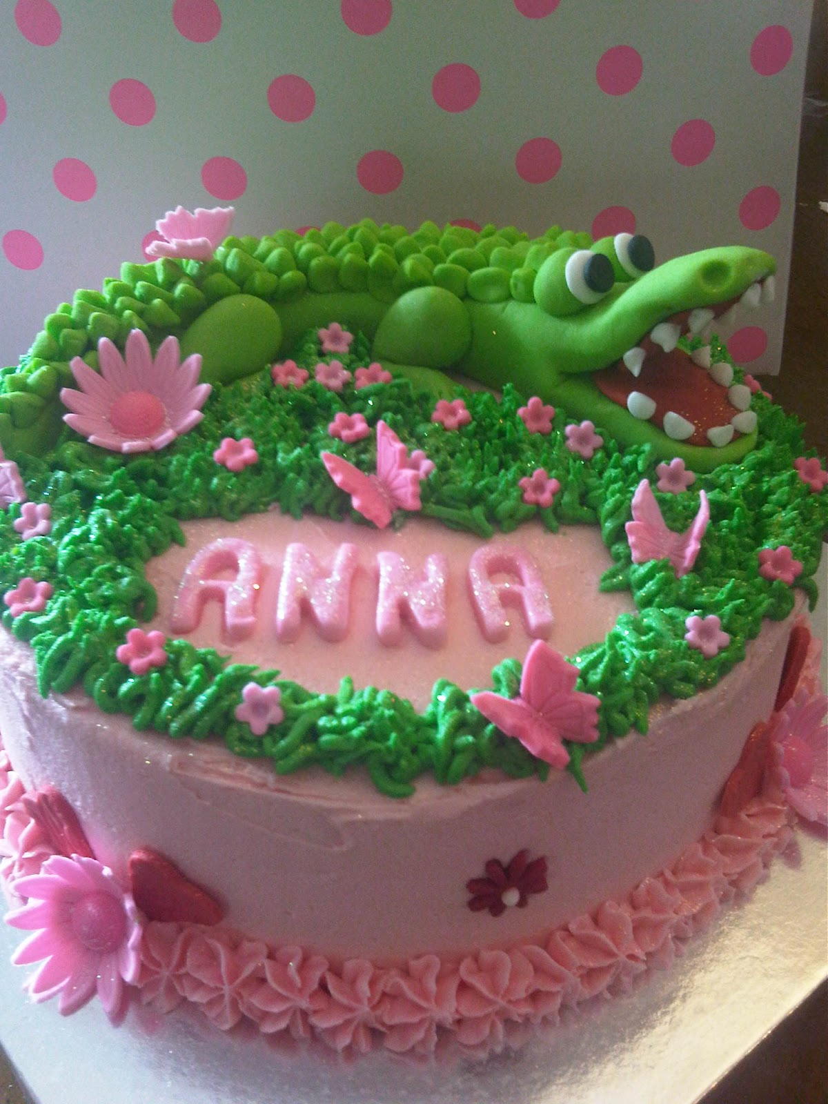 Welcome To Just Iced Friendly Crocodile Cake
