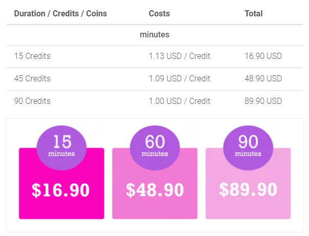 Lucky crush 2022 pricing plans