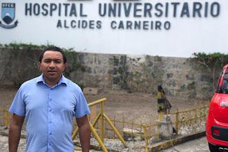 Romero atende pleito do vereador Alexandre e vai ceder terreno para maternidade-escola do HU