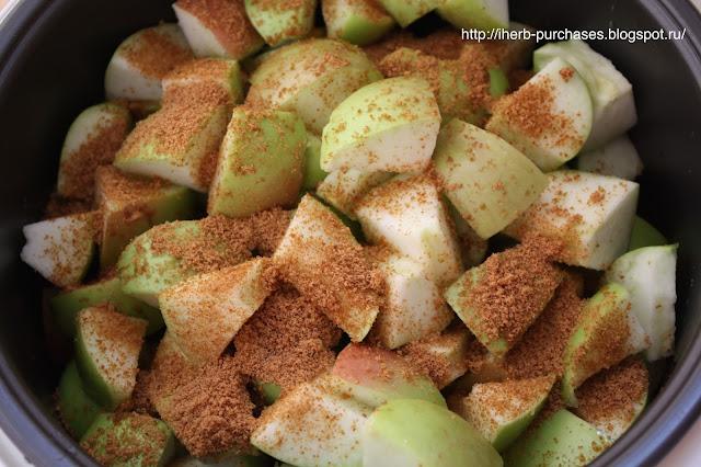 кокосовый сахар запеченные яблоки рецепт фото отзыв iherb