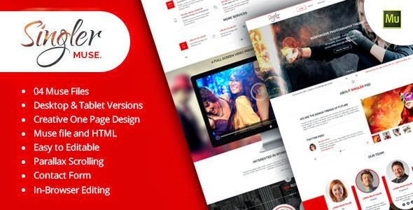 Multipurpose Muse Template 2015