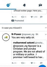 NPOWER 2017: See The Moment Npower's Twitter Handle Came