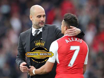 Guardiola Gagal Datangkan Alexis Sanchez