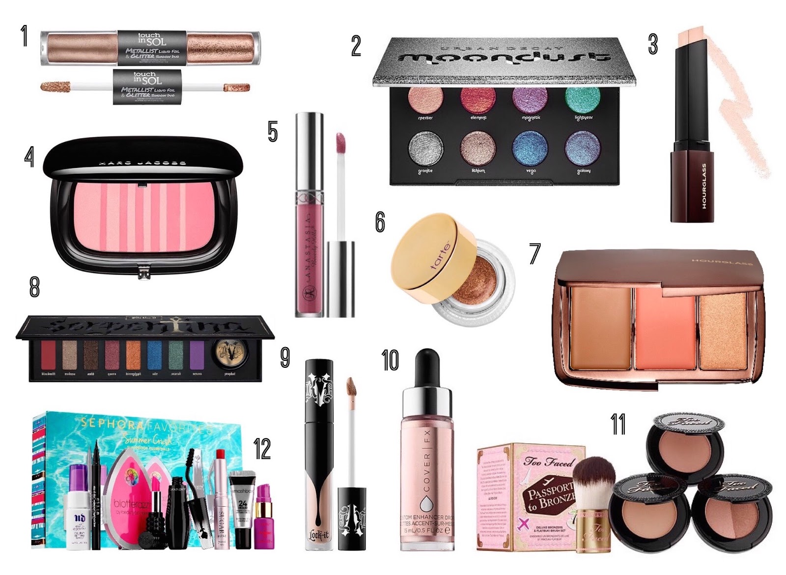 Sephora Wishlist | Summer 2016