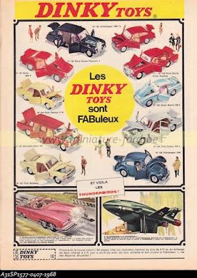 Publicité Dinky Toys couleur-réf SP
