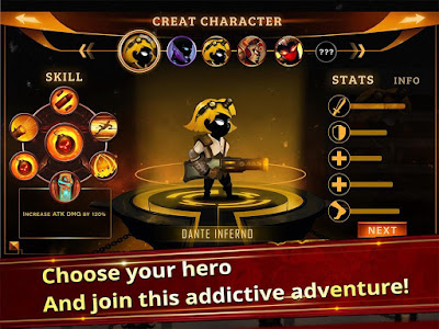 Stickman Legends - Ninja Warriors: Shadow War Mod Apk v2.1.11 Terbaru Update 2017