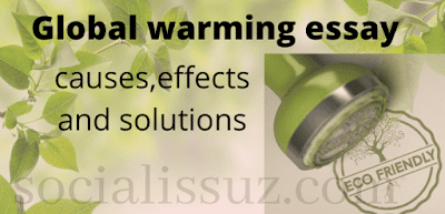 Global Warming Essay : Causes, Effects and Solutions