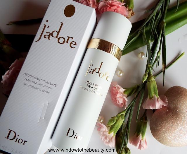 Dior J'adore Dezodorant trwalosc